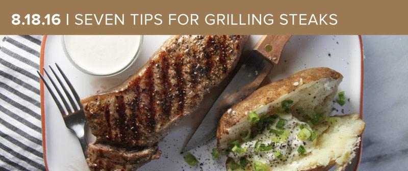 Grilling Better Steak