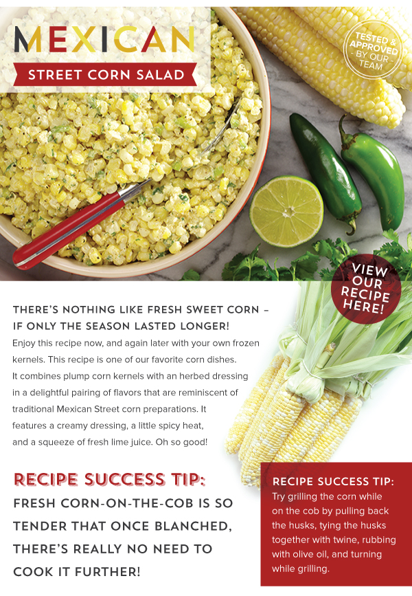 RECIPE: Mexican Street Corn Salad