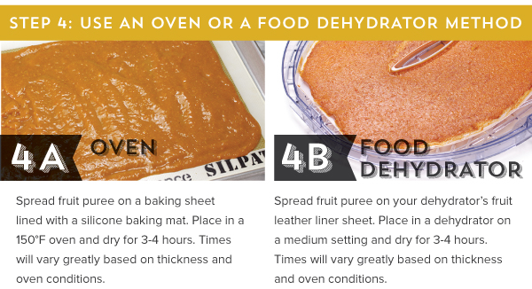 Use an Oven or a Food Dehydrator