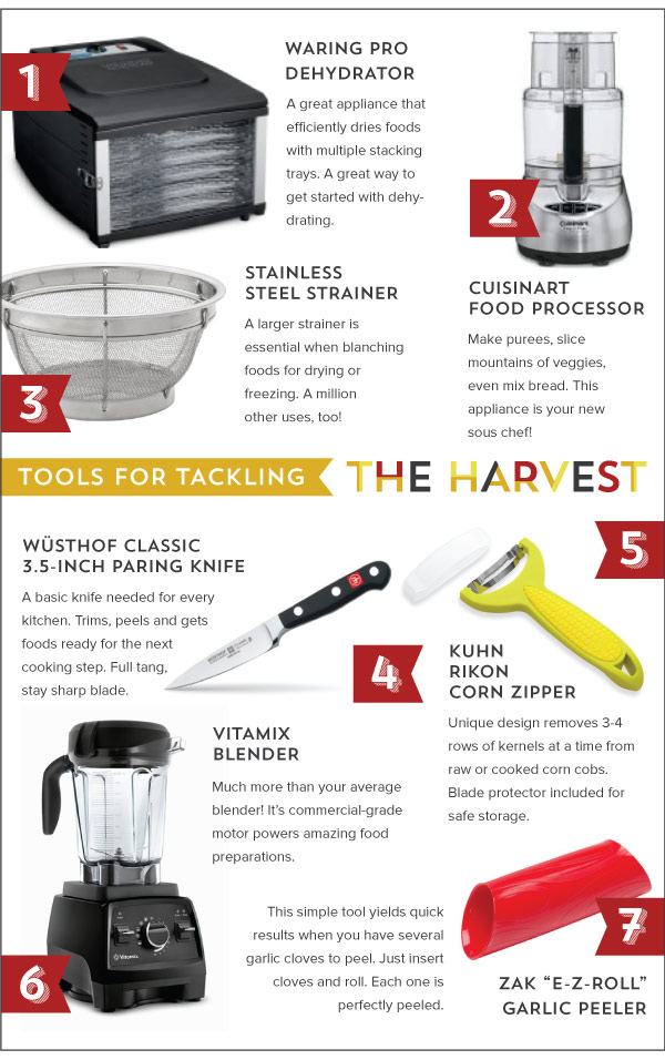 Tools for Tackling The Harvest