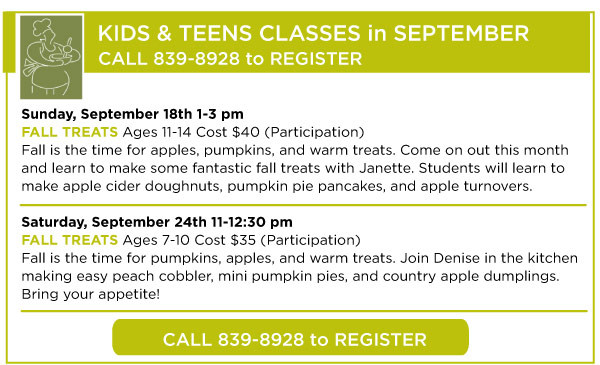 September Kids Classes