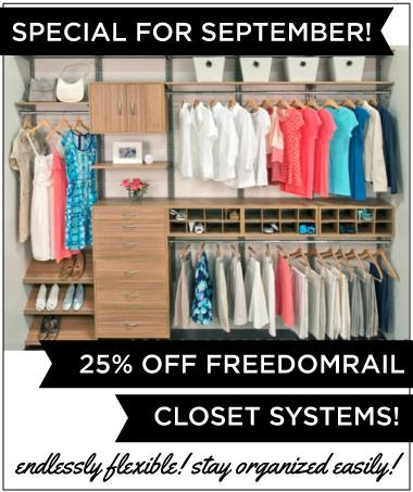 FreedomRail Closet Systems