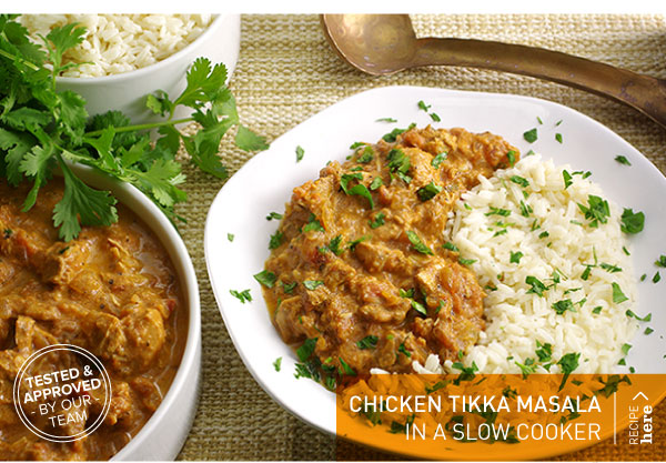 RECIPE: Chicken Tikka Masala In a Slow Cooker