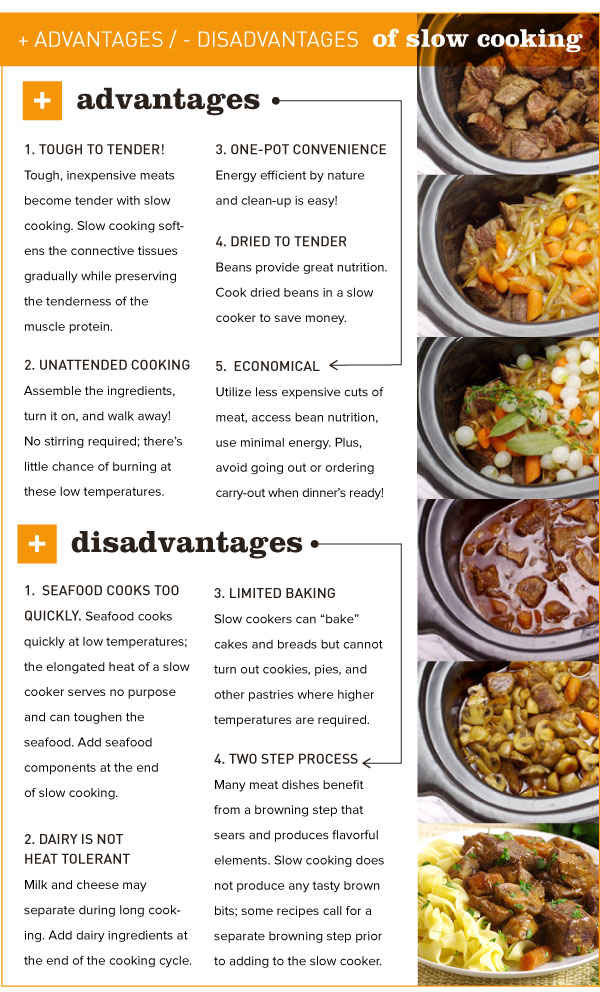 Advantages and Disadvantages of Slow Cooking