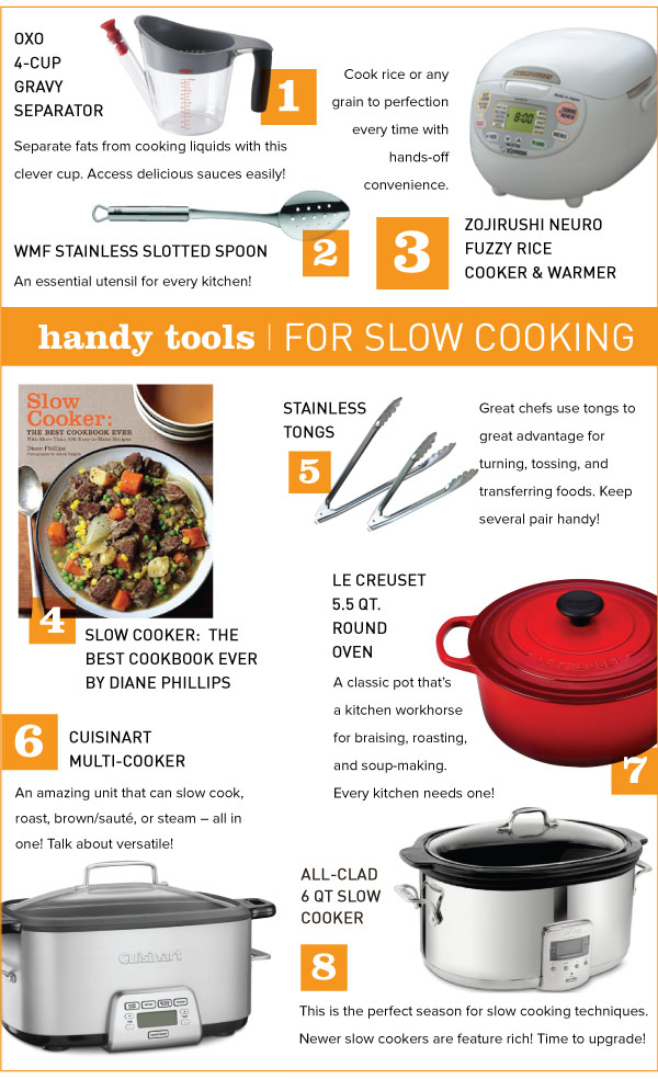 Handy Tools for Slow Cooking