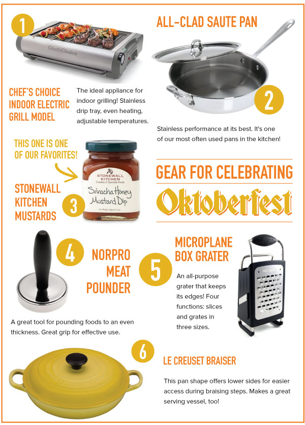 Gear for Celebrating Oktoberfest
