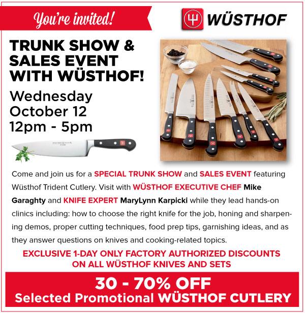 Wusthof Trunk Show
