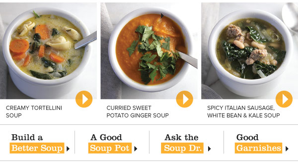 Super Simple Soups for Supper
