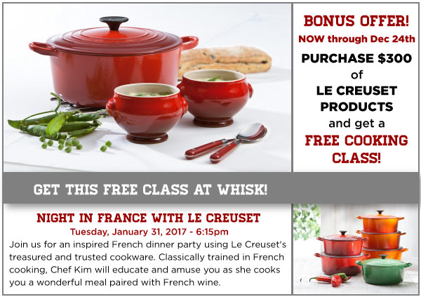 Le Creuset Feature