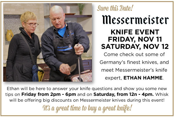Messermeister Knife Event