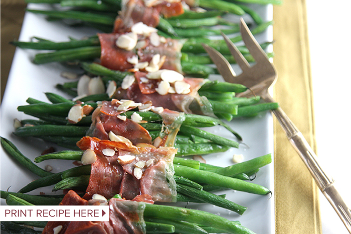 Proscuitto Wrapped Green Beans