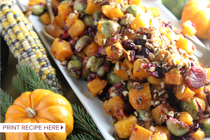 Roasted Thanksgiving Veggies