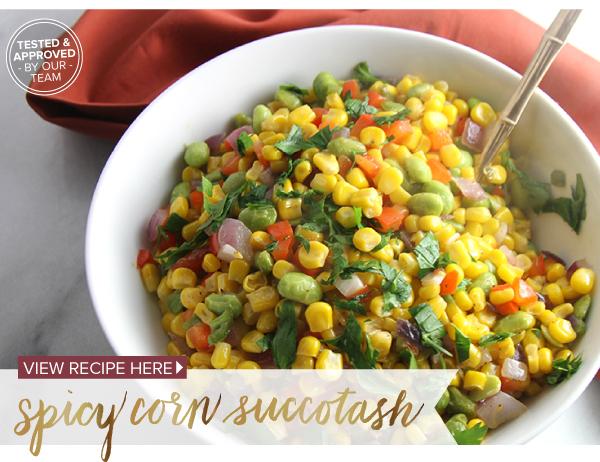 RECIPE: Spicy Corn Succotash