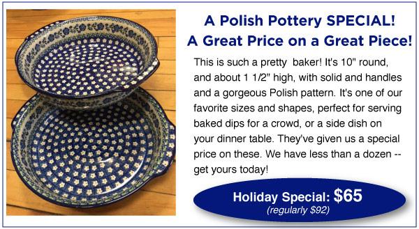 Polish Pottery Special