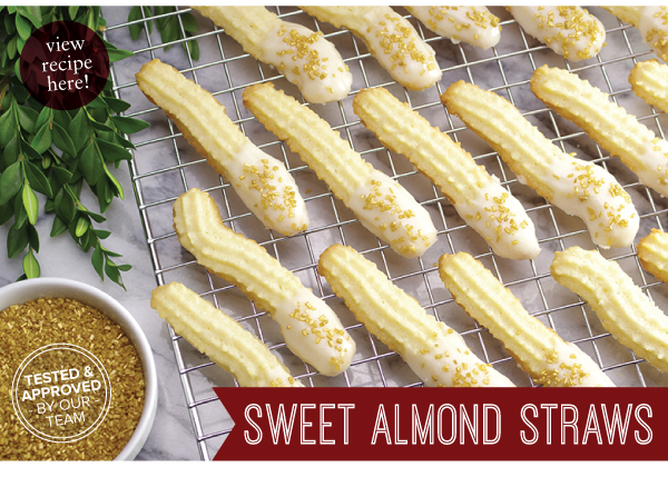 RECIPE: Sweet Almond Straws