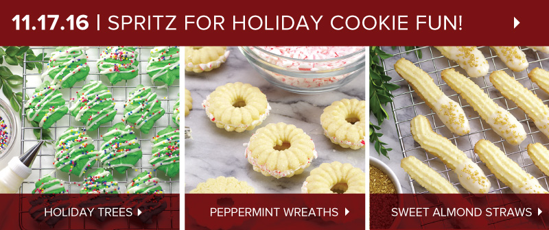 Spritz - Holiday Cookies