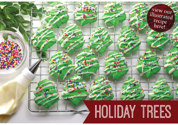 RECIPE: Holiday Trees