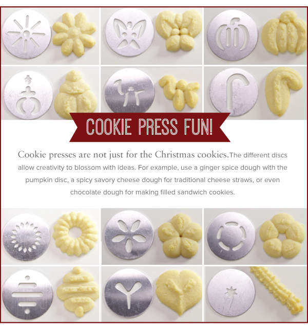 Cookie Press Fun