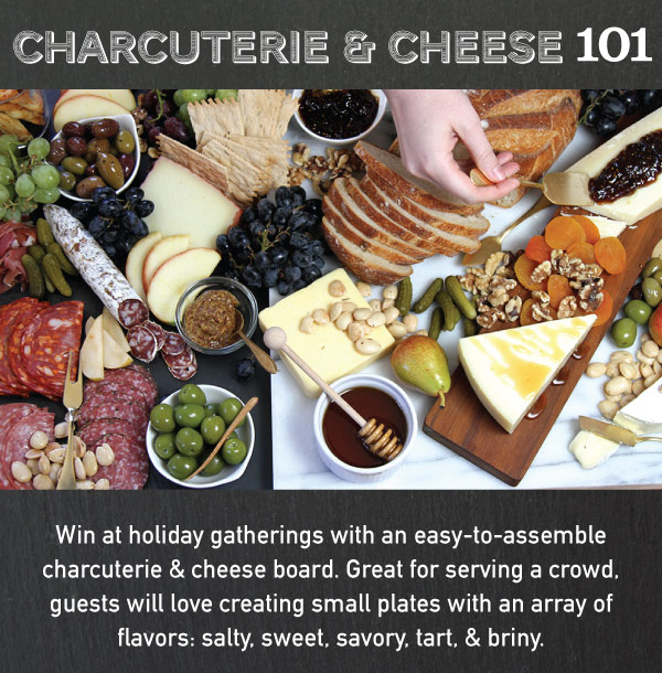 Charcuterie and Cheese 101