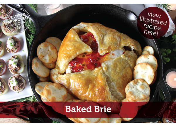 RECIPE: Baked Brie