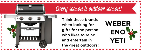 Gifts for the Outdoor Person