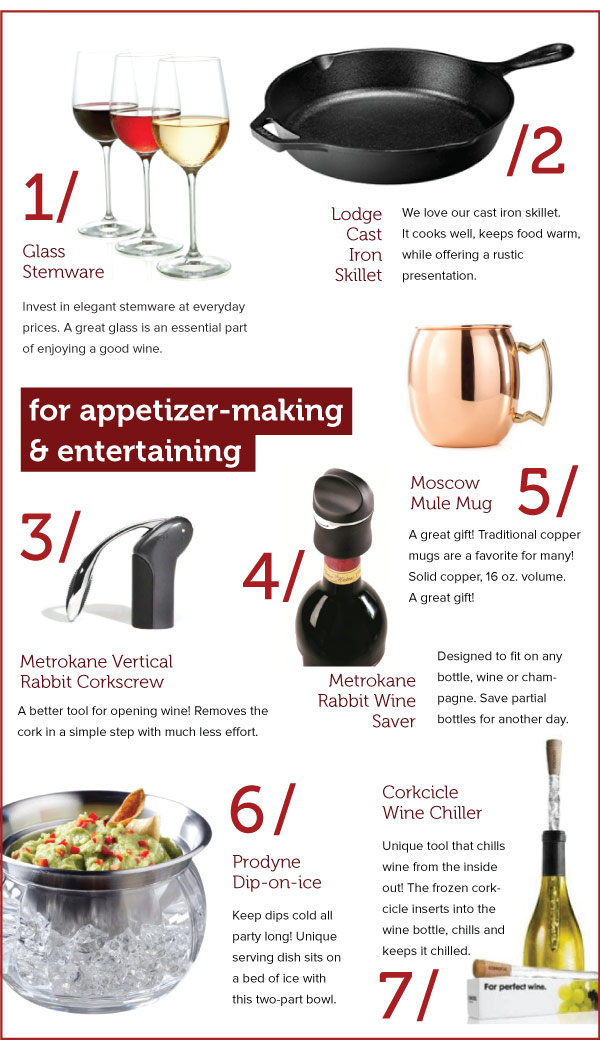 For Appetizer-Making and Entertaining
