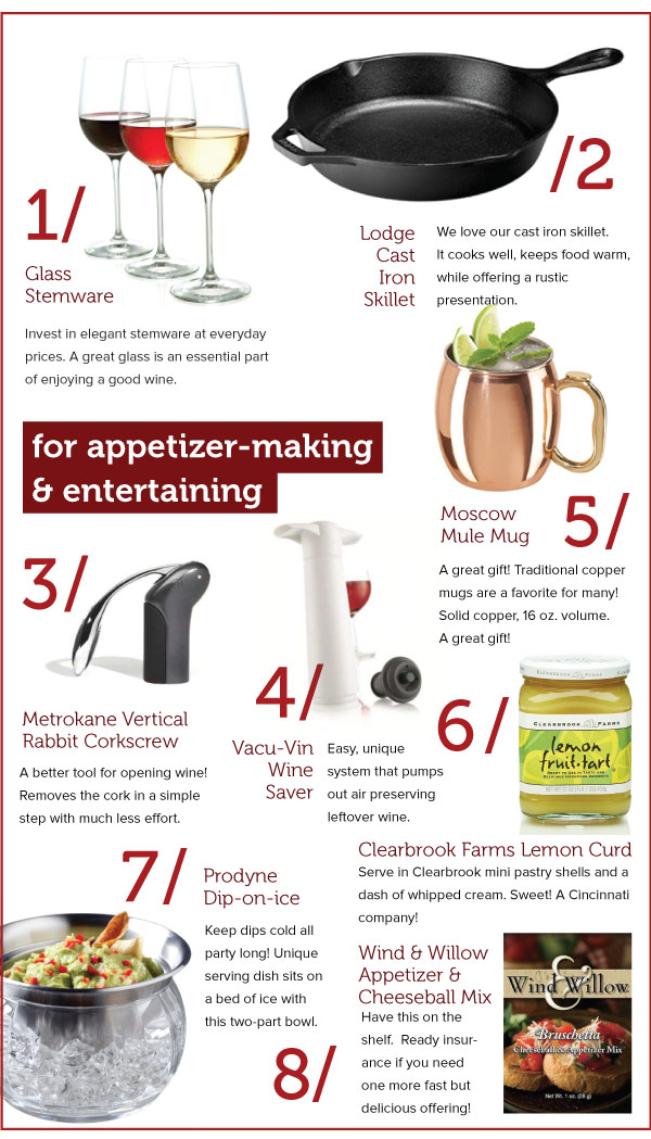 For Appetizer-Making
