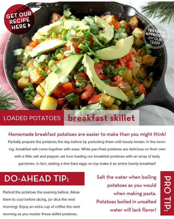 Loaded Potatoes Breakfast Skillet