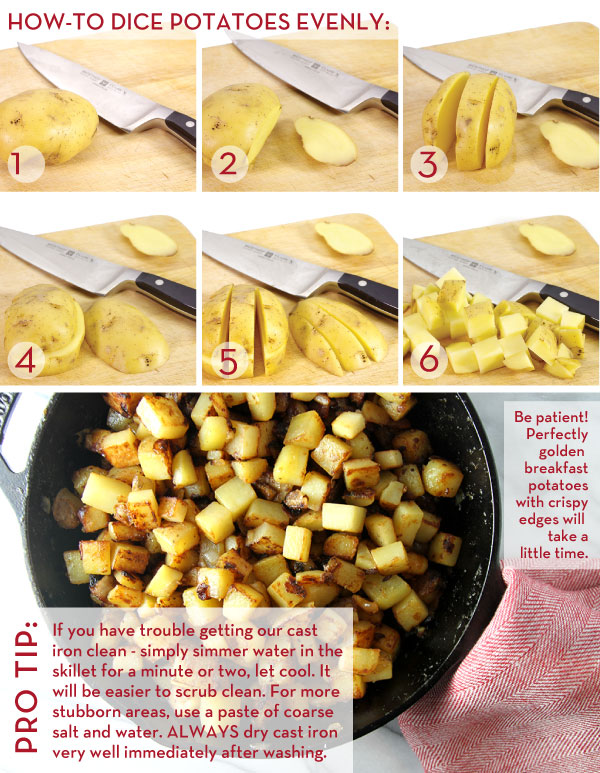 How To Cut Potatoes Evenly