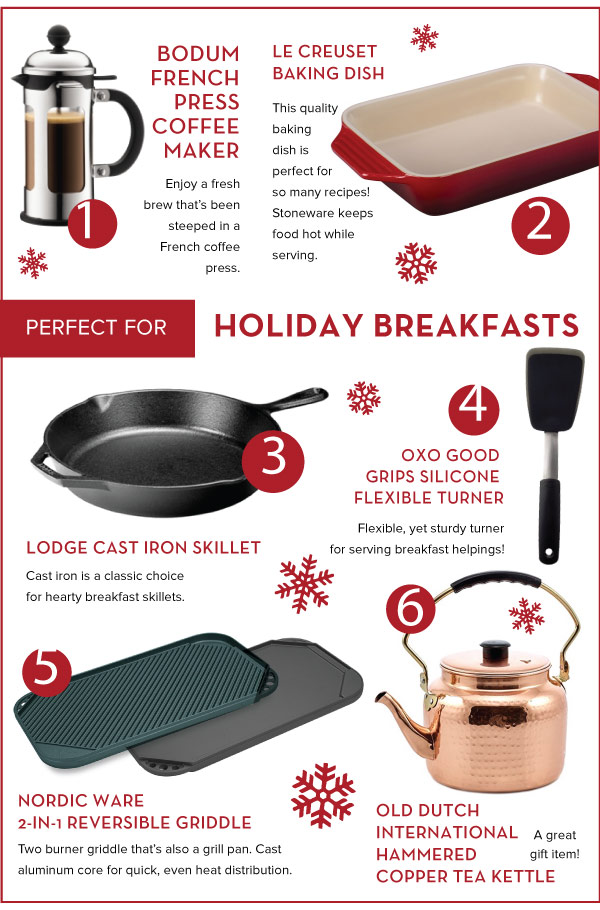 Perfect for Holiday Breakfasts
