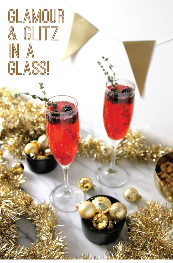Glamour and Glitz in a Glass