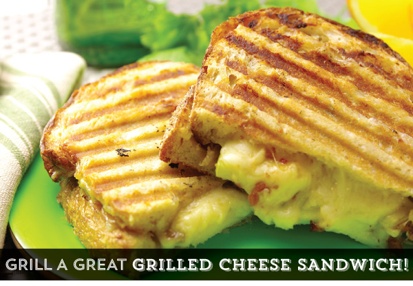 Grill a Great Grilled Cheese Sandwich