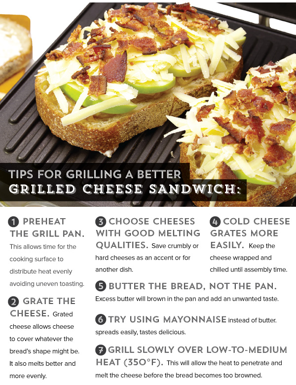 Tips for Grilling a Better Grilled Cheese