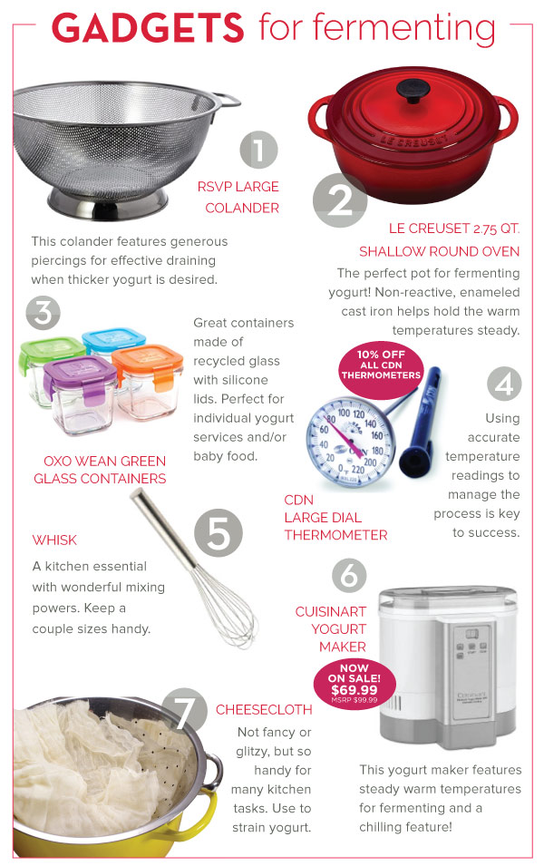 Gadgets for Fermenting