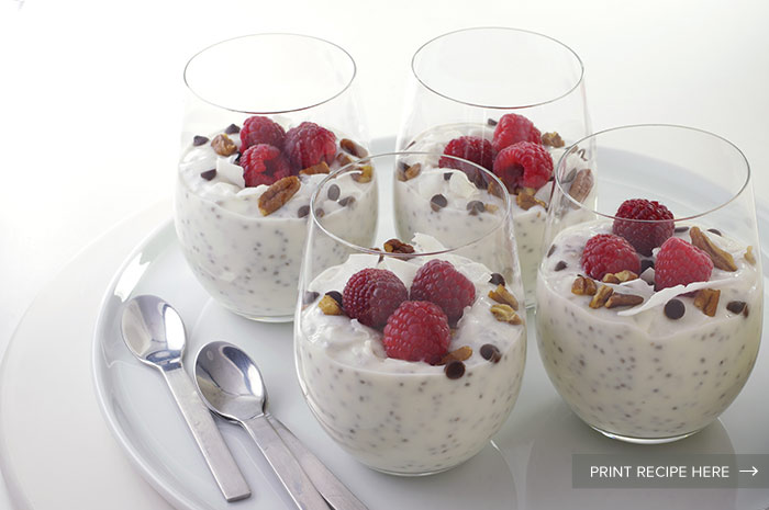Yogurt-Chia Pudding