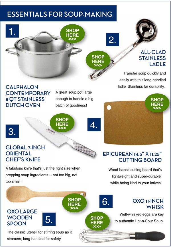 Essentials for Soup-Making