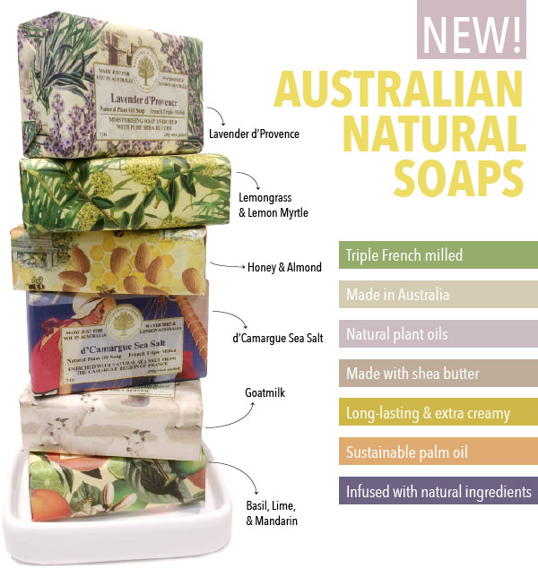 Australian Natural Soaps