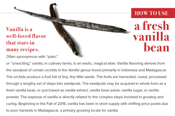 How to Use a Fresh Vanilla Bean