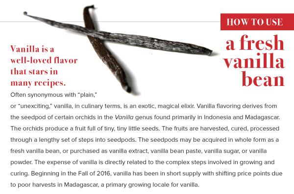 How to Use a Fresh Vanilla Bean
