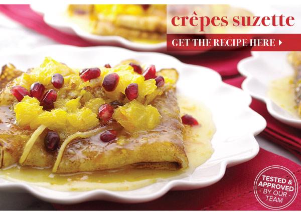 RECIPE: Crepes Suzette