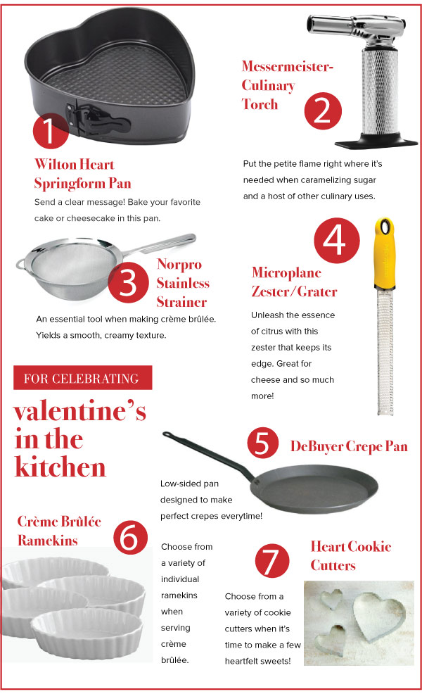 For Celebrating Valentine's In the Kitchen