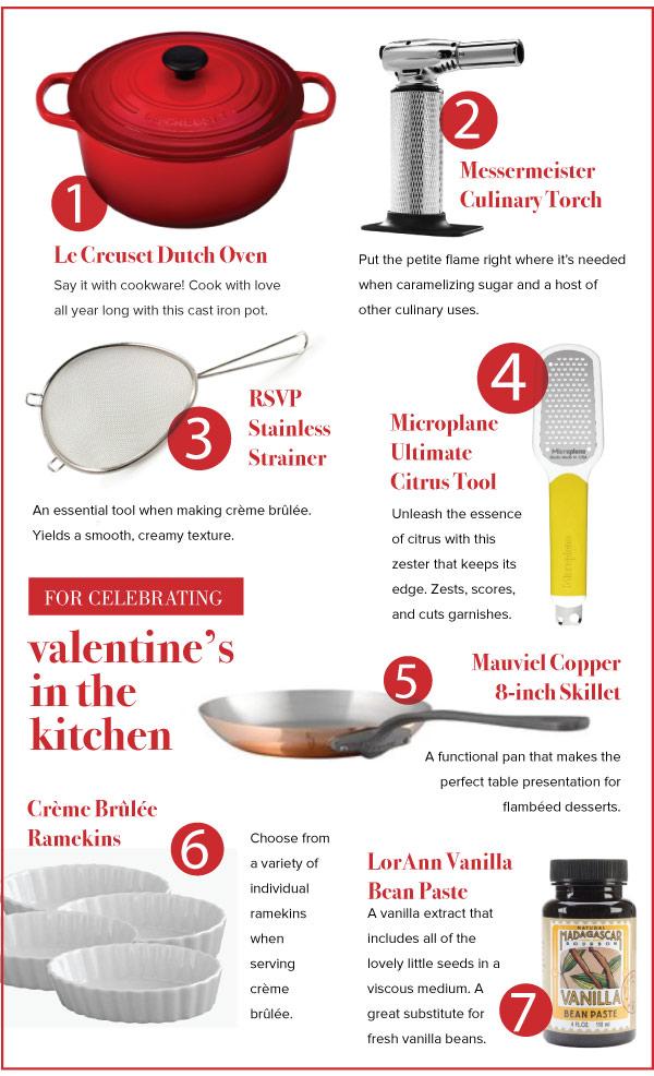 For Celebrating Valentine's In the Kitchen