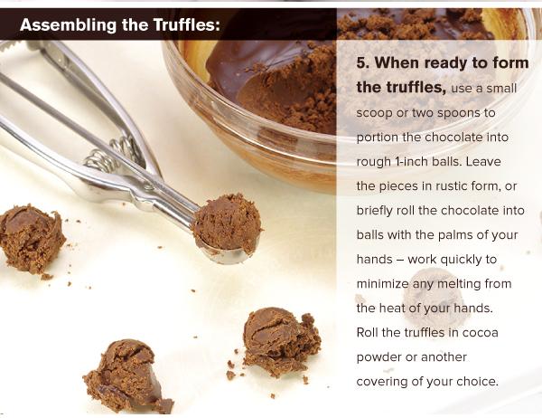 Assembling the Truffles