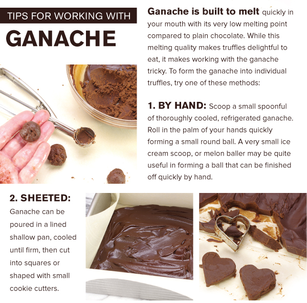 Tips for Working with Ganache