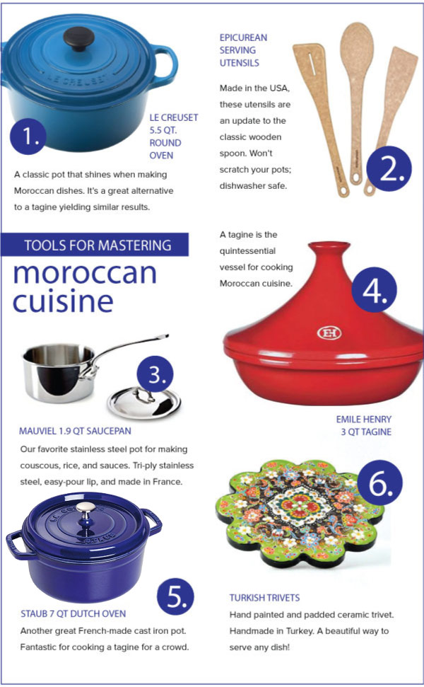Tools for Mastering Moroccan Flavors