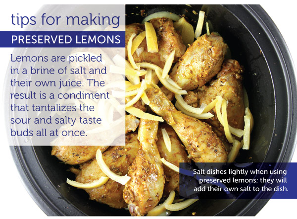 Tips for Mkaing Preserved Lemons