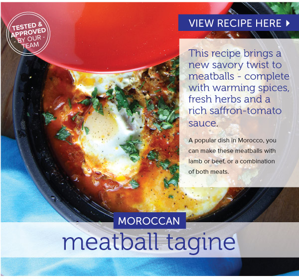 RECIPE: Moroccan Meatball Tagine