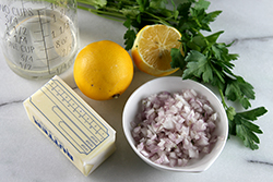 Lemon-Butter Sauce Ingredients