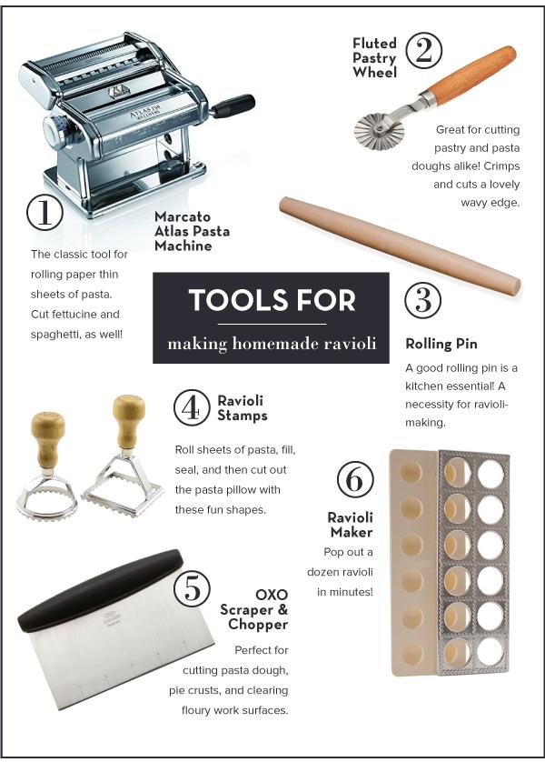 Tools for Making Homemade Ravioli
