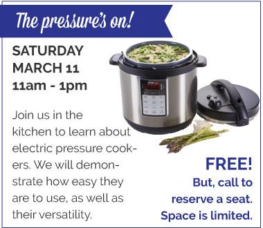 Pressure Cooker Demo